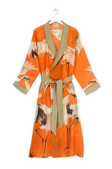 Stork Orange Gown