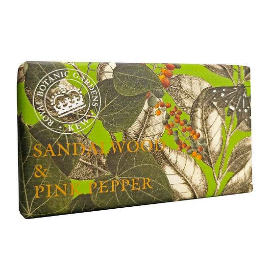 Kew Gardens Sandalwood and Pink Pepper Soap