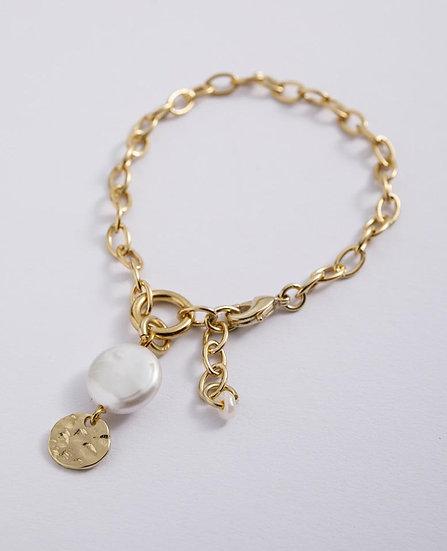 Venus Bracelet with Pearl