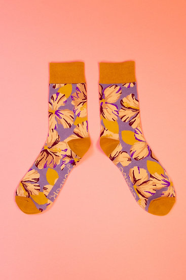 Men's Socks Hibiscus