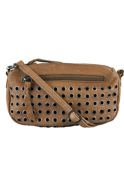 Soft box studded bag