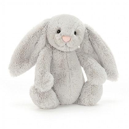 Jellycat Bashful Silver Bunny Med