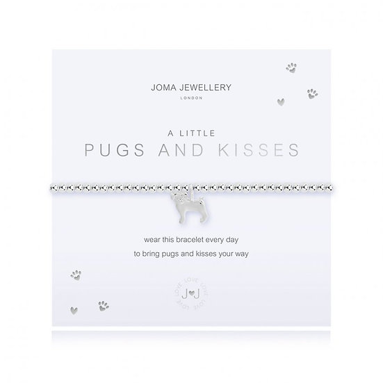 A LITTLE PUGS AND KISSES BRACELET