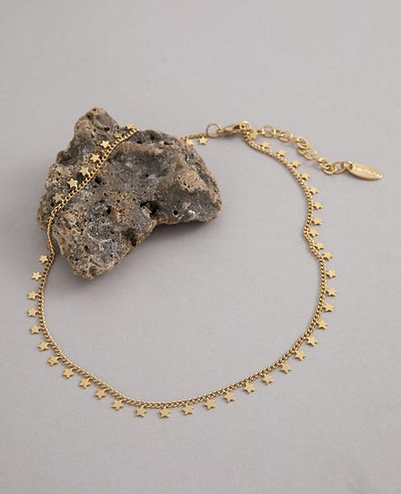 Gold Star Limanos Choker Necklace