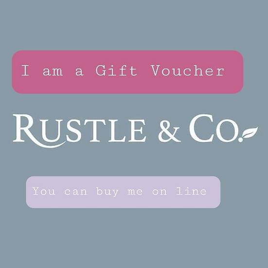 Rustle & Co Gift Voucher