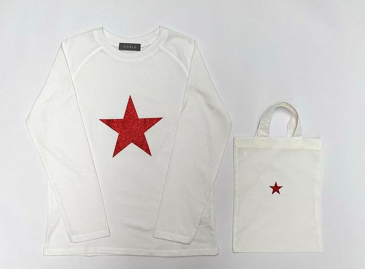 Toddler T Shirt | White | 2-4 Years