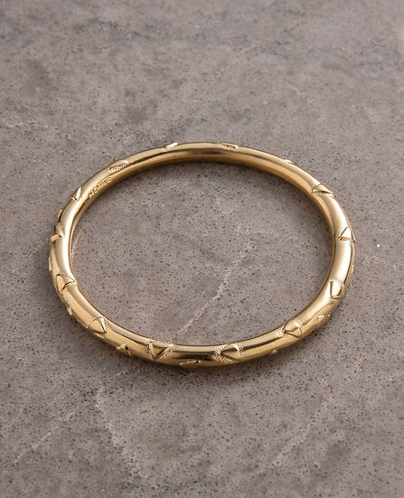 Beautiful Bangle gold, silver or rose gold