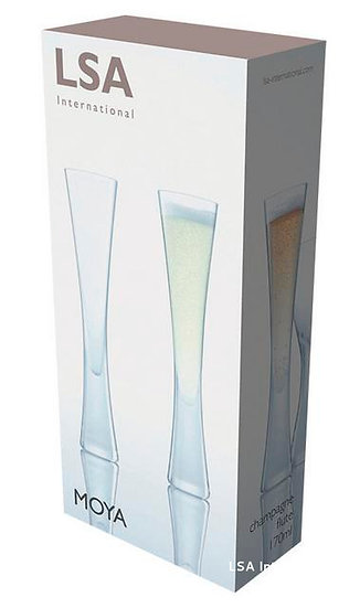 Moya Champagne Flute x 2