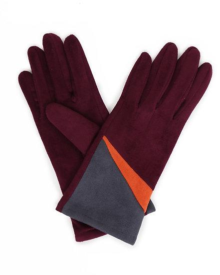 Ziggy Faux Suede Gloves