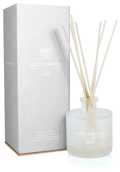 IRISH ROCK ROSE, RASPBERRY & DAVANA SCENTED REED DIFFUSER