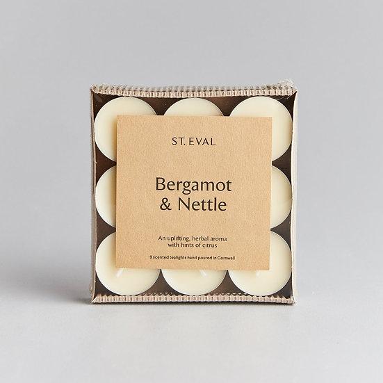 Bergamot & Nettle Scented Tealights