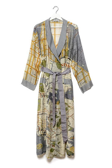 New York Map Gown