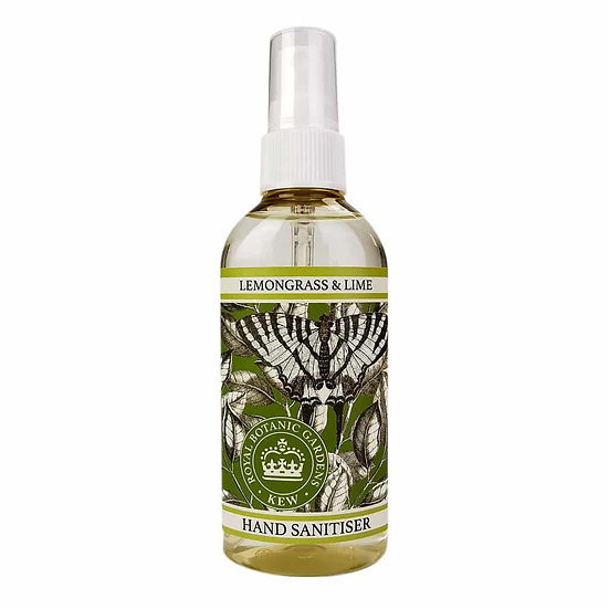 Kew Gardens Lemongrass and Lime Hand Sanitiser