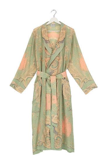 Rococo Aqua Gown
