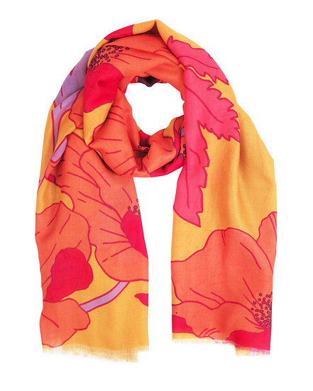 Powder Poppy Scarf Yellow