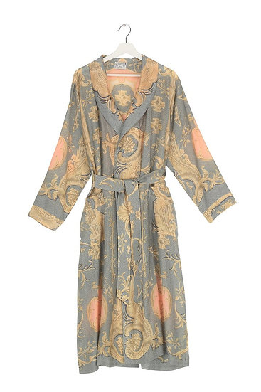 Rococo Grey Gown