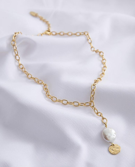 Venus Necklace with Pearl
