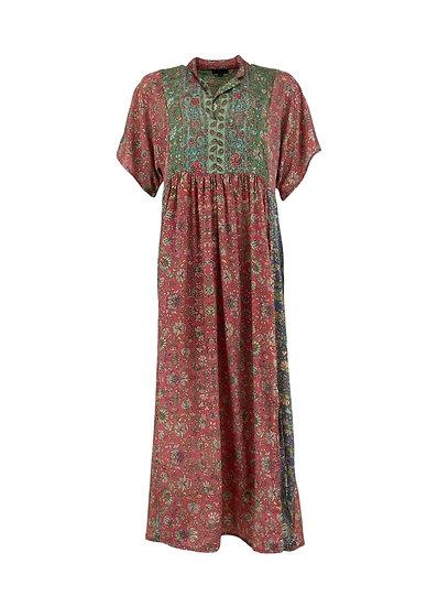 LUNA multi kaftan dress