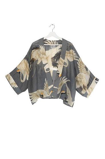 Stork Slate Kimono