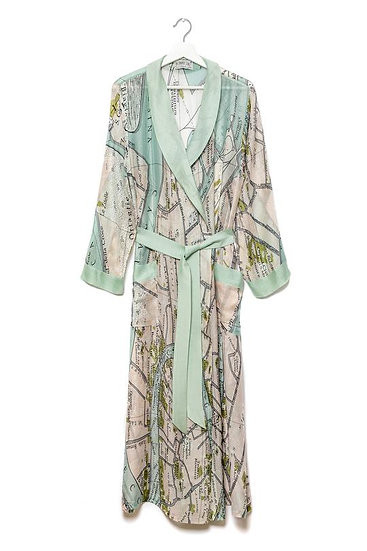 Venice Map Gown