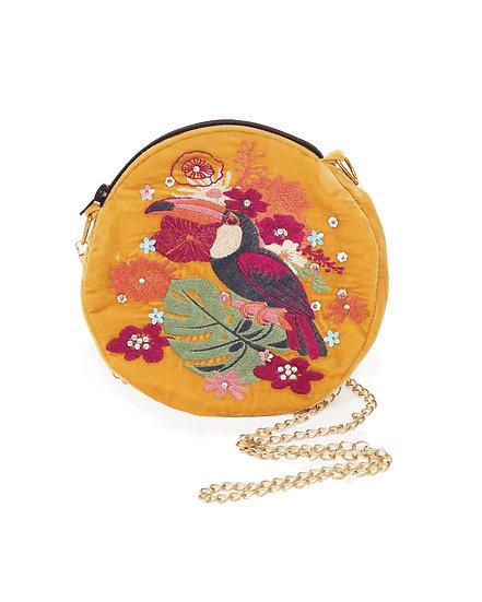 Powder Design Velvet Toucan Bag