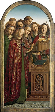 Ghent_Altarpiece_-_Singing_Angels_(left)