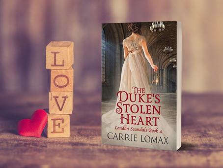The Duke's Stolen Heart (Excerpt)