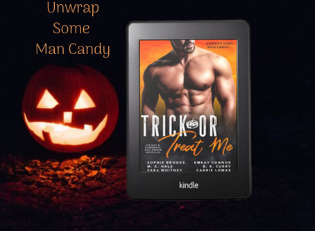 Unwrap some man candy this Halloween!
