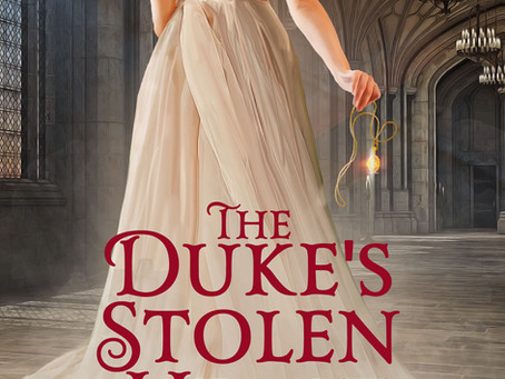 Cover reveal! Preorder The Duke's Stolen Heart for a special release-week price.