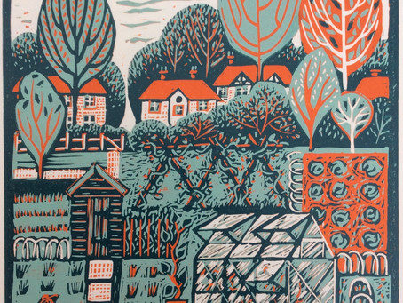 Behind the print: Allotment series