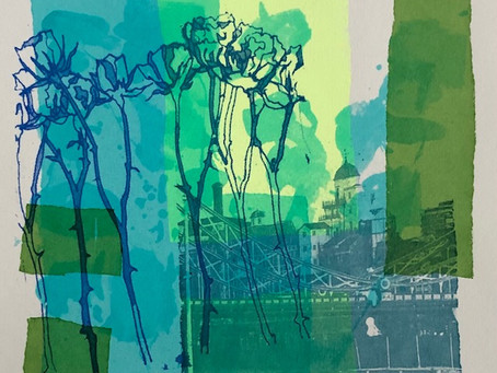"""Behind the print: """"Flowers and the City"""" series"""