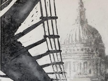 "Behind the print: ""Misty St Paul's"""