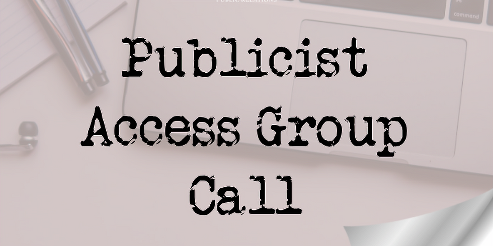 How to Prep Your Biz for a Publicist