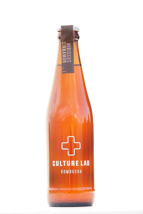 Hibiscus & Cinnamon Kombucha - Culture Lab - 330ml
