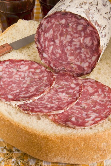 Salami - Sliced