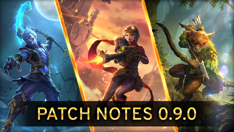 Patch Notes Version 0.9.0