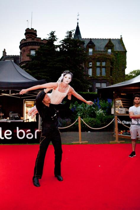Ibis and Dove-Voice Box Theatre-Anatomy Zoo Nights at Edinburgh Zoo-2015