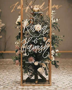 wedding welcome entrance; wedding decoration design; wedding bakcdrop; florist decoration