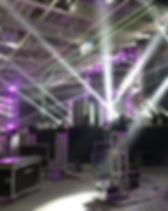 Stage Production; PA system rent; lighting system rent;