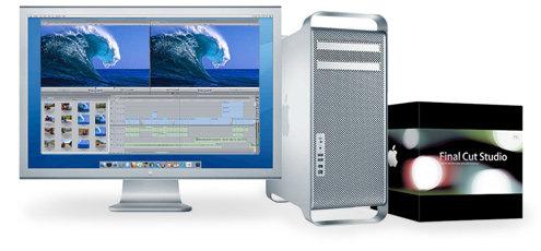 Suite Edición Mac Pro FCP