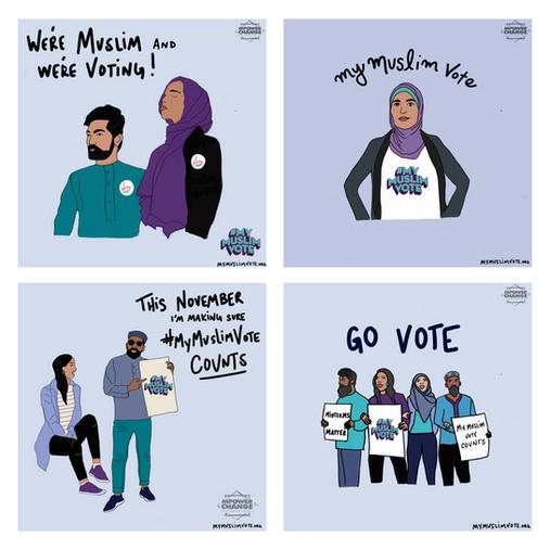 We're Muslim and We're Voting