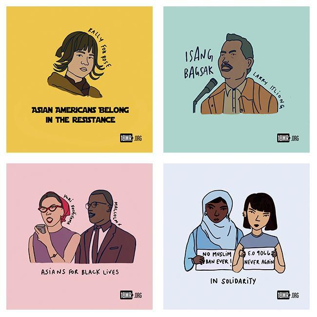 18 Million Rising Sticker Activist Pack