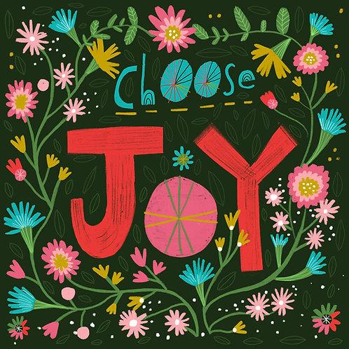 Choose Joy, Print