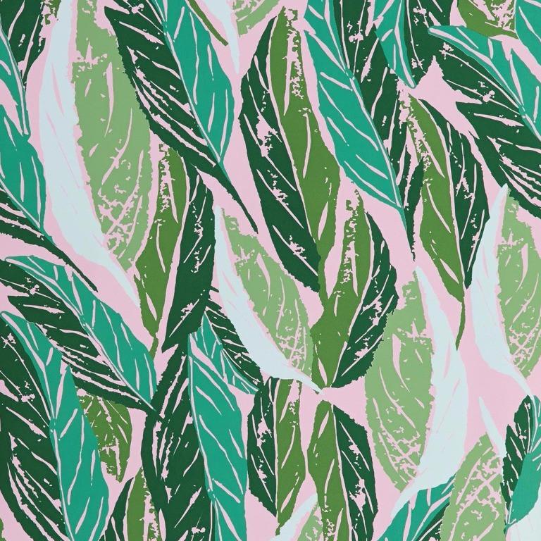 Hygge & West Nana Wallpaper in Pink