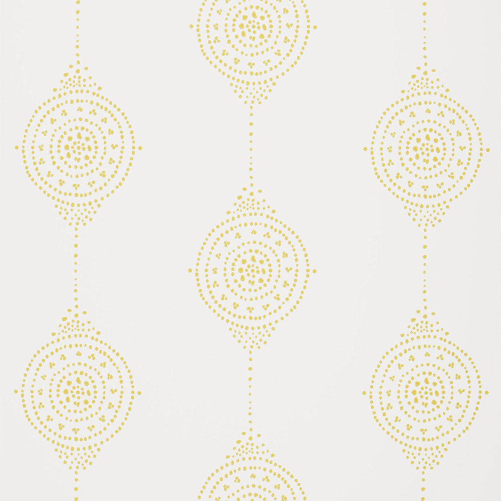 Serena & Lily Luna Stripe Wallpaper in Yellow