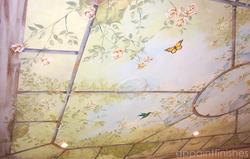Garden Ceiling Mural on Canvas