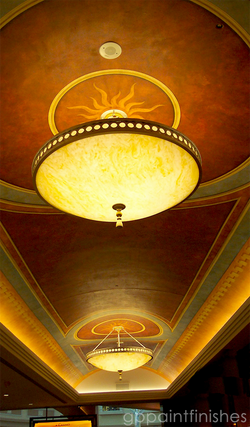 Ceiling Mural on Canvas