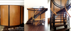 Refinished Round Staircase