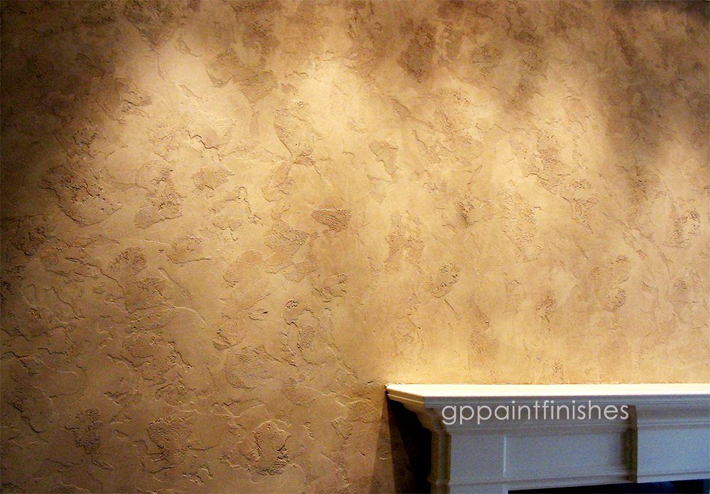 Textured Plaster Wall