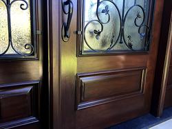 Damaged Door Refinish